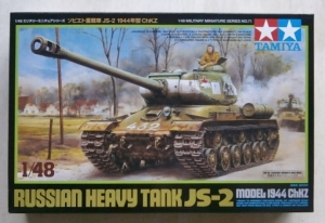 TAMIYA 1/48 32571 JS-2 RUSSIAN HEAVY TANK MODEL 1944 ChKZ
