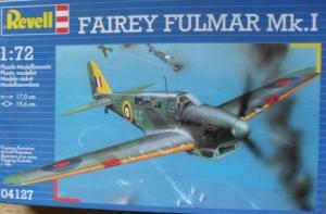 REVELL 1/72 04127 FAIREY FULMAR Mk.I