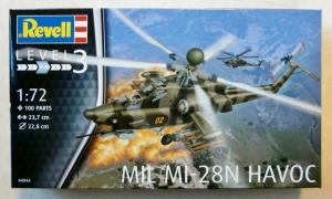 REVELL 1/72 04944 MIL Mi-28N HAVOC