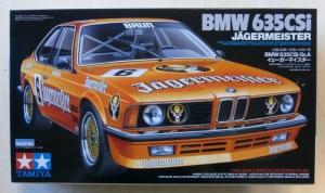 TAMIYA 1/24 24322 BMW 635CSi JAGERMEISTER