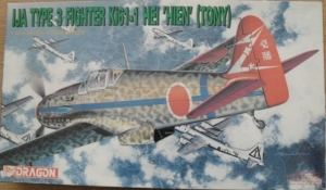 DRAGON 1/72 5021 IJA TYPE 3 FIGHTER Ki-61 HEI HIEN TONY
