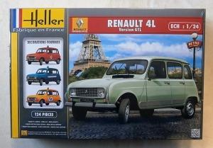 HELLER 1/24 80759 RENAULT 4L