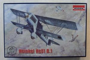 RODEN 1/48 452 HEINKEL He 51 B1