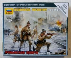 ZVEZDA 1/72 6163 ROMANIAN INFANTRY 1939-1945