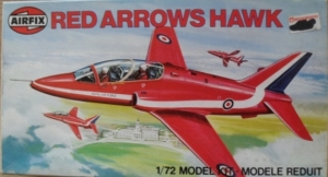 AIRFIX 1/72 03026 RED ARROWS HAWK