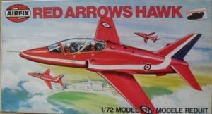 AIRFIX 1/72 03026 RED ARROWS HAWK