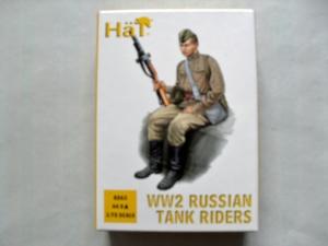 HAT INDUSTRIES 1/72 8263 WW2 RUSSIAN TANK RIDERS