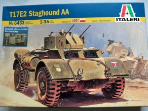 ITALERI 1/35 6463 T17E2 STAGHOUND AA