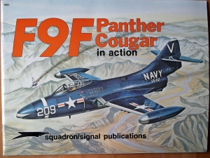 SQUADRON/SIGNAL AIRCRAFT IN ACTION  1051. F9F PANTHER/COUGAR