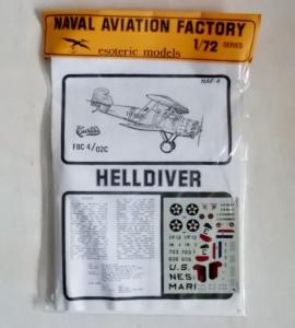 ESOTERIC 1/72 NAF-4 CURTISS F8C-4/02C HELLDIVER