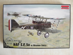 RODEN 1/32 602 RAF S.E.5a LATE WITH HISPANO SUIZA