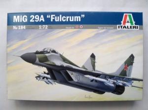 ITALERI 1/72 184 MiG-29A FULCRUM