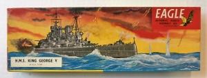 EAGLEWALL 1/1200 HMS KING GEORGE V