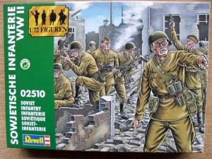 REVELL 1/72 02510 SOVIET INFANTRY WWII