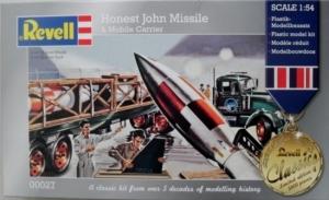 REVELL  00027 HONEST JOHN MISSILE   CARRIER  1/54