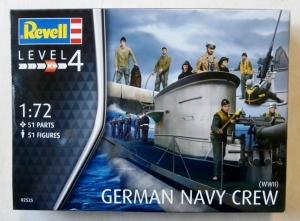 REVELL 1/72 02525 WWII GERMAN NAVY