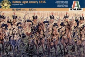 ITALERI 1/72 6094 NAPOLEONIC BRITISH LIGHT CAVALRY 1815