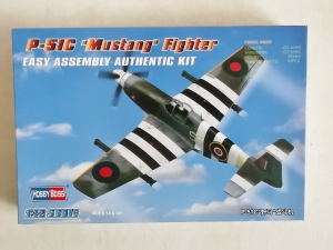 HOBBYBOSS 1/72 80243 P-51C MUSTANG FIGHTER