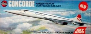 AIRFIX 1/144 06175 CONCORDE BRITISH AIRWAYS