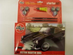 AIRFIX 1/32 50089 ASTON MARTIN DB5 STARTER SET