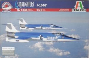 ITALERI 1/72 1344 F-104G STARFIGHTERS AEROBATIC TEAM