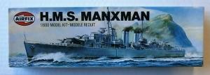 AIRFIX 1/600 02203 HMS MANXMAN