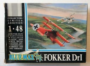 BLUE MAX 1/48 101 FOKKER Dr.I