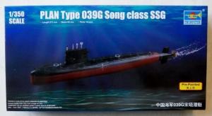 TRUMPETER 1/350 04599 PLAN TYPE 039G SONG CLASS SSG