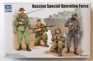 TRUMPETER 1/35 00437 RUSSIAN SPECIAL OPERATION FORCE