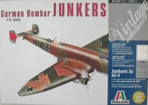 ITALERI 1/72 114 JUNKERS Ju 86 D1