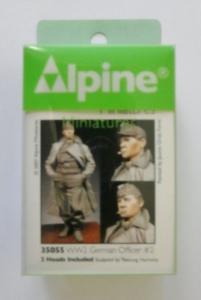ALPINE MINIATURES 1/35 35055 WWII GERMAN OFFICER No.2