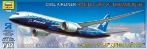 ZVEZDA 1/144 7008 BOEING 787-8 DREAMLINER