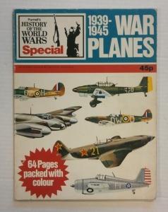 CHEAP BOOKS  ZB708 PURNELLS WAR PLANES 1939-1945