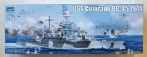 TRUMPETER 1/700 05768 USS COLORADO BB-45 1944