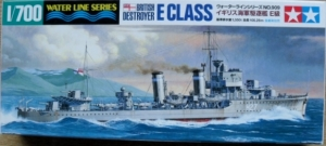 TAMIYA 1/700 31909 BRITISH E CLASS DESTROYER