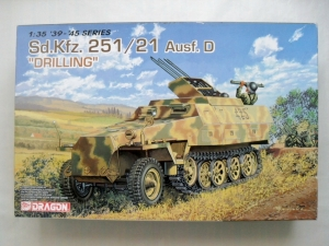 DRAGON 1/35 6217 Sd.Kfz.251/21 Ausf.D DRILLING