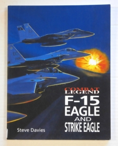 CHEAP BOOKS  ZB619 COMBAT LEGEND F-15 EAGLE   STRIKE EAGLE
