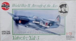AIRFIX 1/72 02091 YAKOVLEV YAK-3 SPECIAL EDITION