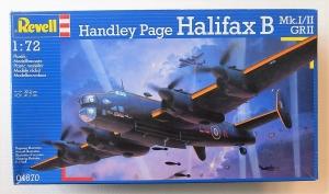 REVELL 1/72 04670 HANDLEY PAGE HALIFAX B Mk.I/II/GR.II