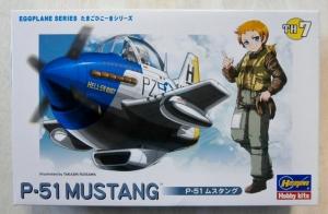 HASEGAWA HASEGAWA EGG PLANES TH7 P-51 MUSTANG