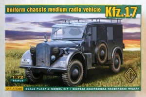 ACE 1/72 72260 Kfz.17 MEDIUM RADIO VEHICLE