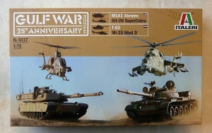 ITALERI 1/72 6117 GULF WAR 25th ANNIVERSARY SET