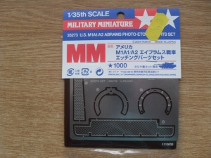 TAMIYA 1/35 35273 US M1A1/A2 ABRAMS PHOTO-ETCHED PARTS SET