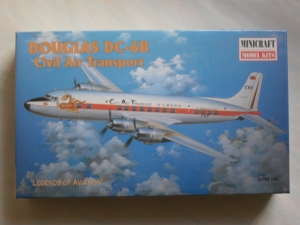 MINICRAFT 1/144 14459 DC-6B CIVIL AIR TRANSPORT