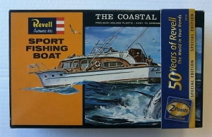 REVELL  H387 SPORT FISHING BOAT RE-ISSUE