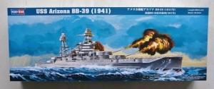HOBBYBOSS 1/350 86501 USS ARIZONA BB-39  1941