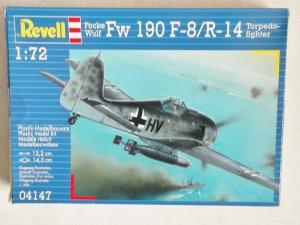 REVELL 1/72 04147 FOCKE-WULF Fw 190F-8/R-14 TORPEDO FIGHTER