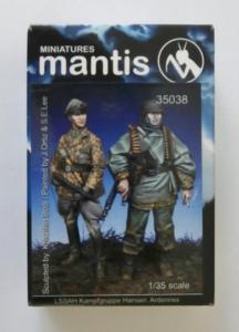 MANTIS MINIATURES 1/35 35038 LSSAH KAMPFGRUPPE HANSEN ARDENNES