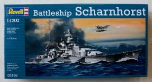 REVELL 1/1200 05136 BATTLESHIP SCHARNHORST