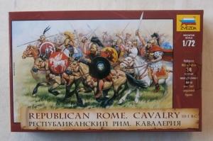 ZVEZDA 1/72 8038 REPUBLICAN ROMAN CAVALRY